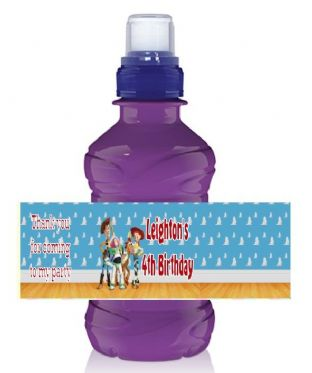 Toy Story Bottle Label Wrapper
